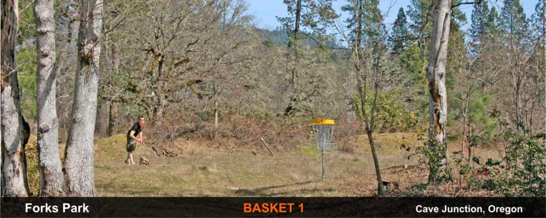 Forks-Park-disc-golf-Cave-Junction-basket-1