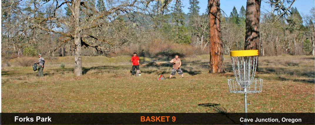 Forks-Park-disc-golf-Cave-Junction-basket-9