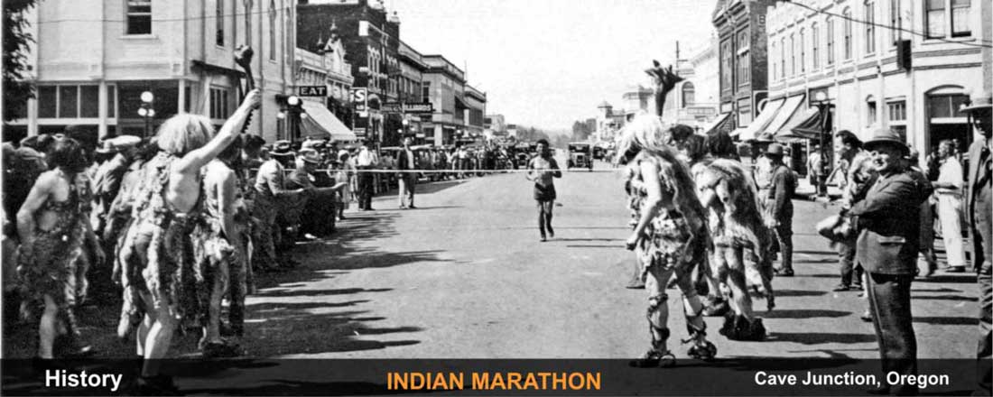 history-indian-marathon-cave-junction-oregon