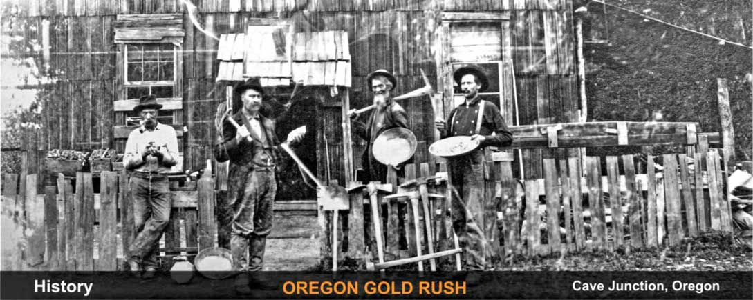 history-oregon-gold-rush-cave-junction