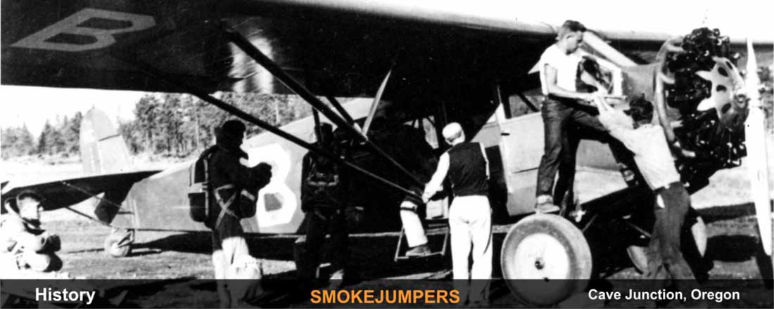 history-siskiyou-smokejumper-cave-junction-oregon