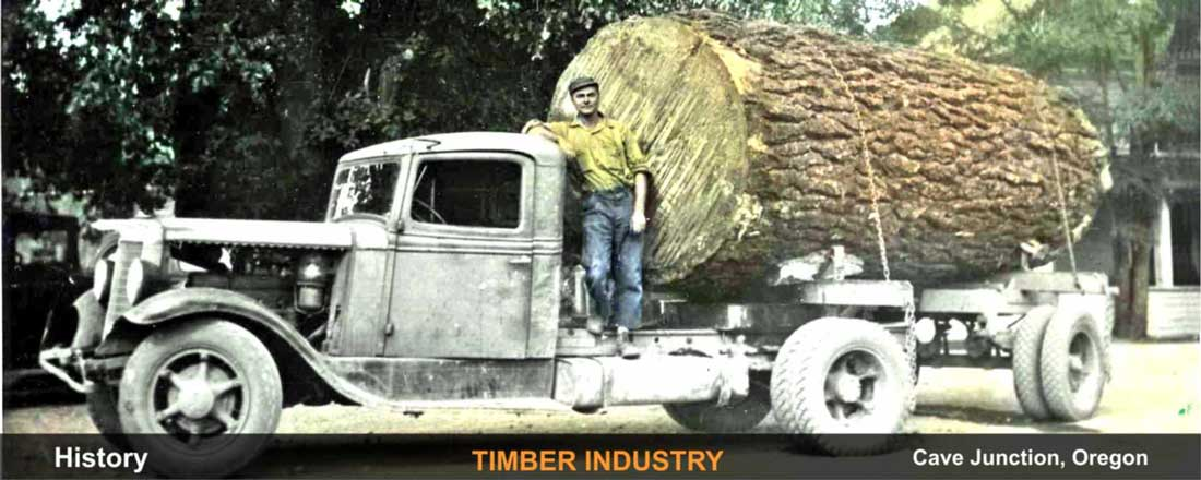 history-timber-industry-cave-junction-oregon