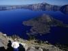 Crater Lake and Wizard Island from Watchman Peak, Oregon