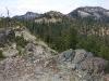 Ridge near Twin Valleys, Siskiyou Wilderness, California
