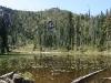 Sucker Gap Pond, Red Buttes Wilderness