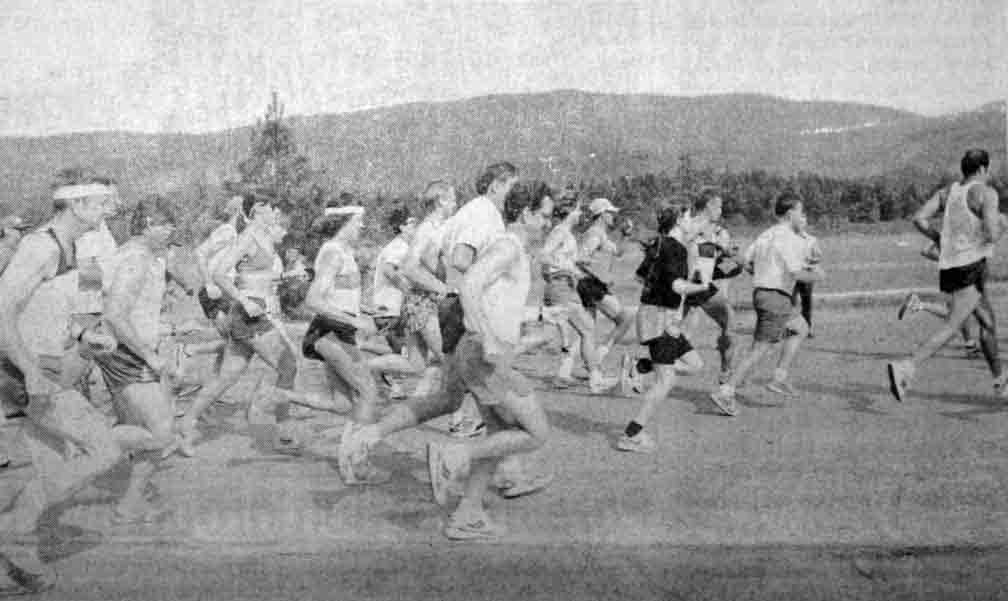 Moon Tree Run, June 15, 1994 race starts