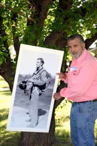 Photo of Bob Nolan taken in 2006 at the Siskiyou Smokejumper Base reunion, Cave Junction, Oregon