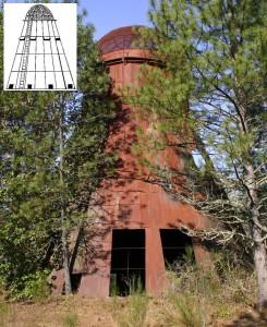 Wigwam burner at the Oregon Caves Lumber Mill, Oregon Caves HIghway, Cave Junction, Oregon