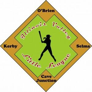 Logo for Illinois Valley Little League, Cave Junction, Oregon