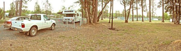 Image showing park host site at Jubilee Park, Cave Junction, Oregon